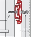 Side mount drawer slide diagram
