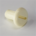 Threaded cover cap A white