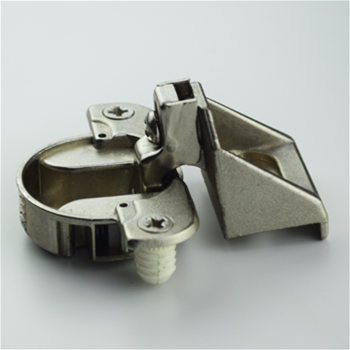 "ET2045 Cabinet Hinge, Plus 5/16"" (8Mm) Overlay, Nickel"