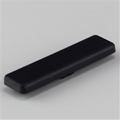 Intermat Cabinet Hinge, black cover cap