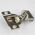 Concealed Face Frame Cabinet Hinge, 1 in. Overlay, Zinc, DISCONTINUED.