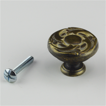Antique Latte Glaze Knob