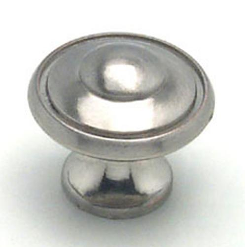 Berenson, 2920-1BPN-P, Cabinet Knob, Euro Traditions, Brushed Nickel Finish