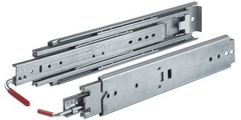 Capacity Full Extension Heavy Duty 36 in. Drawer Slide 500 lb Zinc