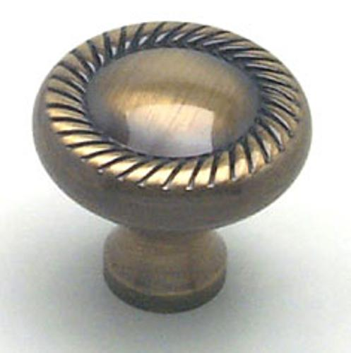 Berenson, 4982-302-P, Cabinet Knob, Newport, Antique English Finish/Solid Brass