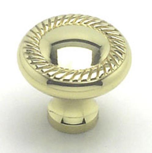 Berenson, 4994-303-P, Cabinet Knob, Newport, Polished Brass Finish