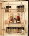 Rev-A-Shelf, 4ASR-21, Adjustable Door Mount Spice Rack