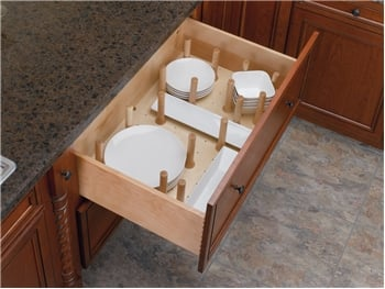 Peg System Drawer Organizers
