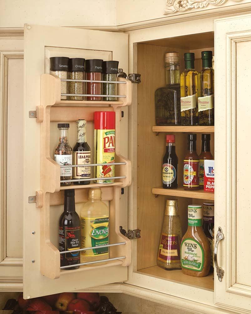 ... Door Mount Spice Rack. Large View Of The Rev A Shelf, 4SR 15, 10 Inch
