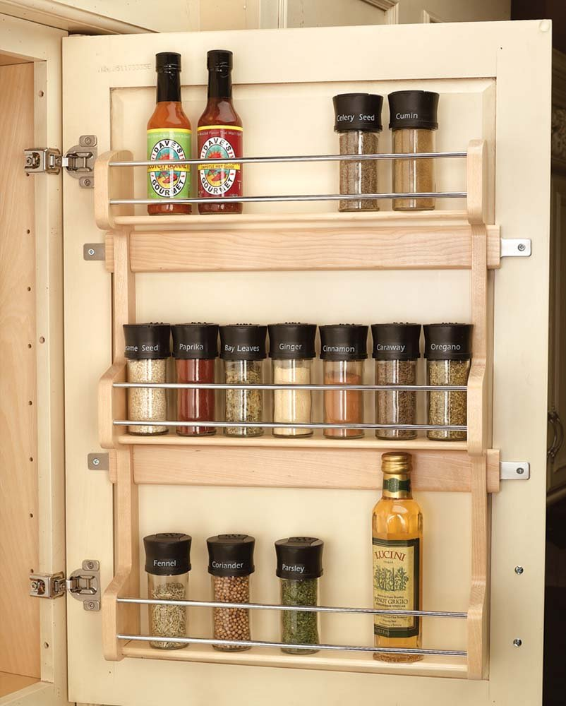16 Inch Door Mount Spice Rack 4sr 21