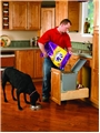 Rev-A-Shelf, 4WCBM-15DM-1, Rev-A-Motion Single 35 Qt  Trash Can