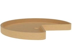 Rev-A-Shelf, 4WLS472-32-52, 32 Inch Wood Classics Kidney Shaped Lazy Susan, Replacement Shelf only