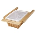 Rev-A-Shelf, 4WB-520I, 520mm (20-1/2 In.) Rattan Basket, Rails and Liner