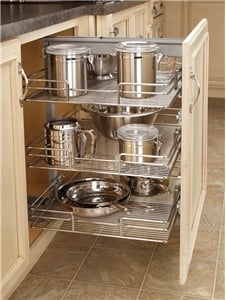Pull Out Pantry 17 Quot Shorty Chrome 5225 16 Cr