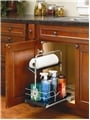 Rev-A-Shelf, 544-10C-1, Under Sink Pull-Out Chrome Caddy
