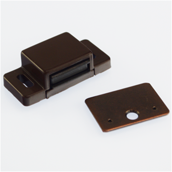 Magnetic catch M 71/GP3 brown