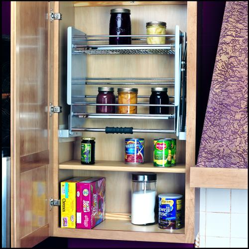 Kitchen Cabinet Sliding Shelves