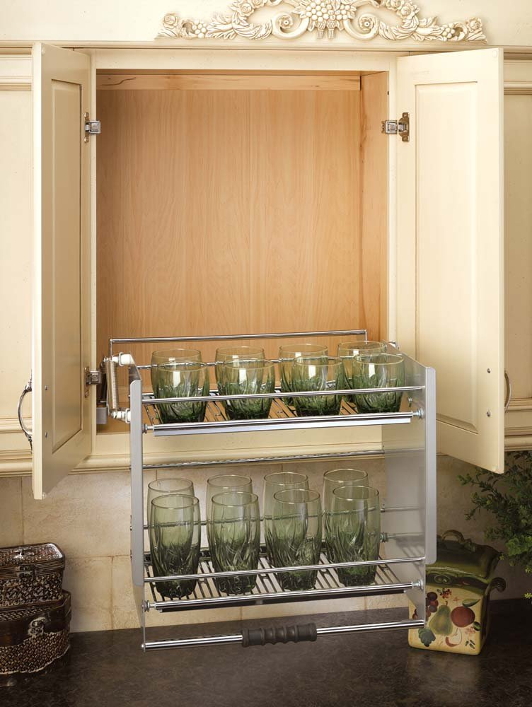 kitchen storage shelf 24 quot pull shelf 5pd 24cr by rev a shelf 3177