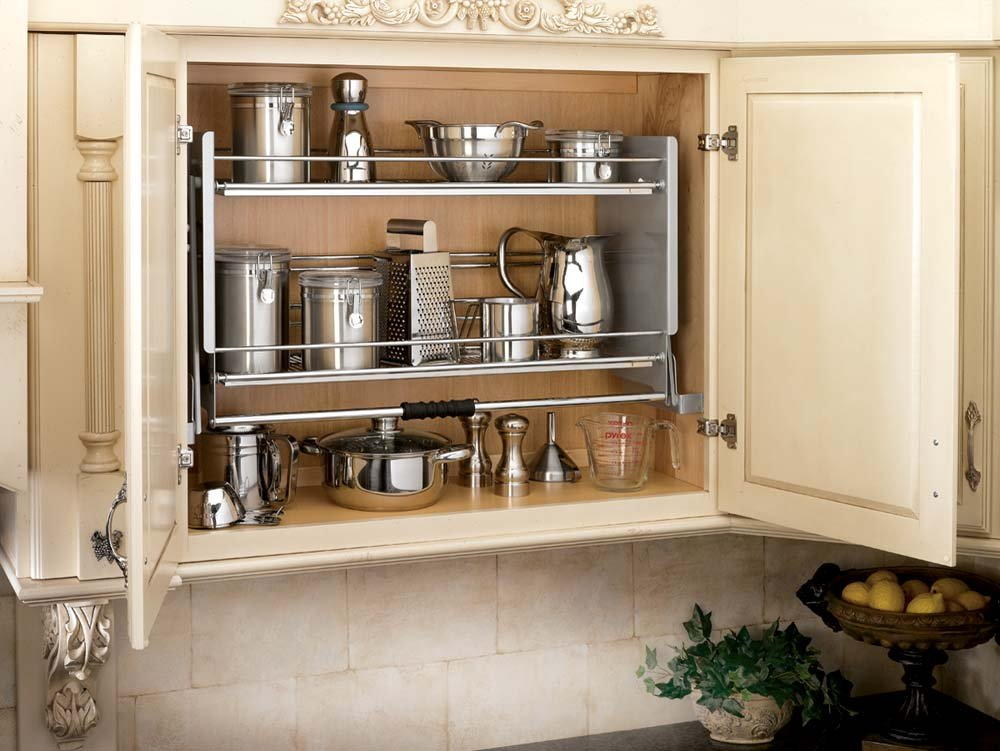 36 Inch Pull-Down Shelf, 5PD-36CR