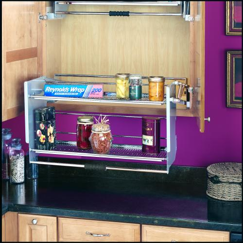 Rev A Shelf Premiere Pull Down Shelving System For: 36 Inch Pull-Down Shelf, 5PD-36CR