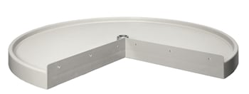 Rev-A-Shelf, 6101-18-11-52, Replacement SHELF, Pie-Cut Shelf, White, 18 Inch