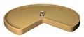 Rev-A-Shelf, 6401-28-15-52, Replacement SHELF, KIDNEY SHAPE, Almond, 28 INCH