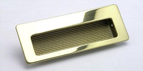 Berenson, 6691-107-B, Recess Pull, Zurich, Polished Gold