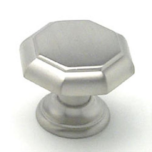 Berenson, 7087-1BPN-C, Cabinet Knob, Euro Classica, Brushed Nickel Finish