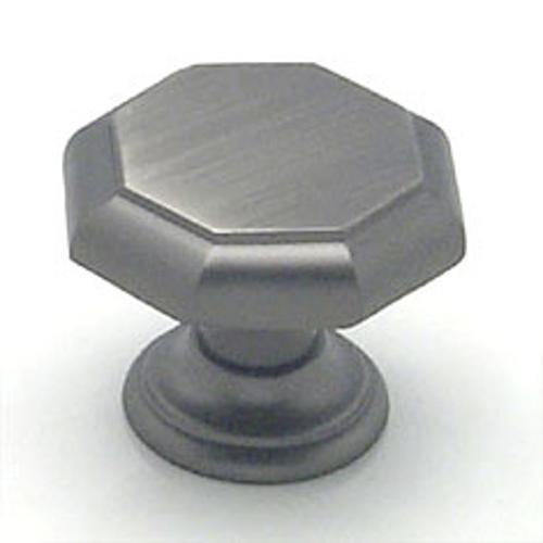 Berenson, 7088-1BT-C, Cabinet Knob, Euro Classica, Brushed Tin Finish