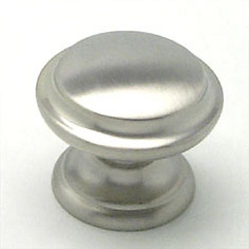 Berenson, 7093-1BPN-C, Cabinet Knob, Euro Classica, Brushed Nickel Finish