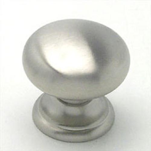 Berenson, 7096-1BPN-C, Cabinet Knob, Euro Classica, Brushed Nickel Finish