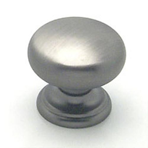 Berenson, 7097-1BT-C, Cabinet Knob, Euro Classica, Brushed Tin Finish