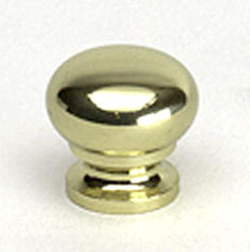Berenson, 7317-303-B, Cabinet Knob, Plymouth, Polished Brass