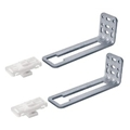 Quadro Metal Rear Bracket Set