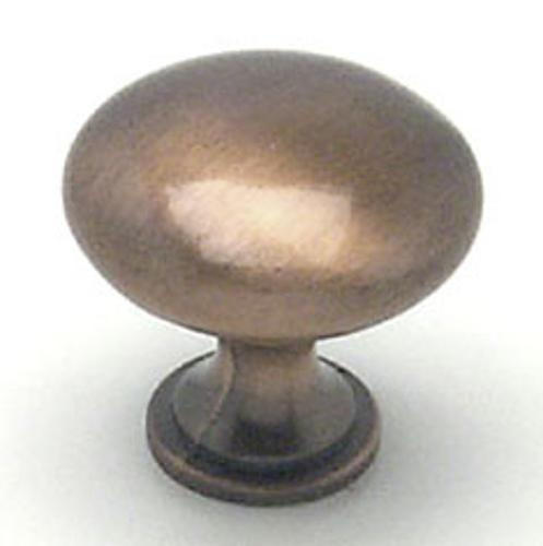 Berenson, 9722-1BAC-P, Cabinet Knob, Euro Moderno, Brushed Antique Copper Finish