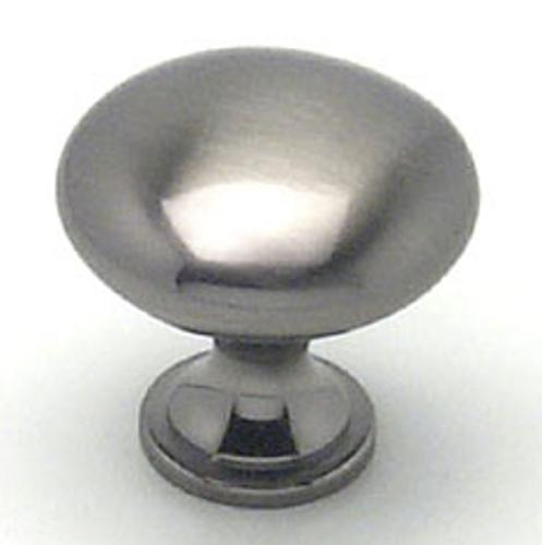 Berenson, 9723-1BBN-P, Cabinet Knob, Euro Moderno, Brushed Black Nickel Finish