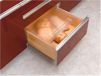 Rev-A-Shelf, BDC-200-20, Bread Drawer Cover Kit, Translucent