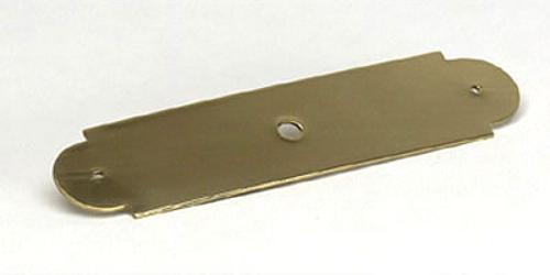 Berenson, 1965-303-B, Back Plate, Manchester, Polished Brass