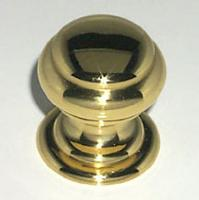 Berenson, 2469-303-C, Cabinet Knob, Cambridge, Polished Brass