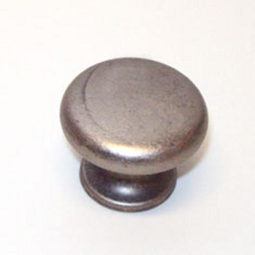 Berenson, 2954-1TN-C, Cabinet Knob, Euro Retro, Tin Finish