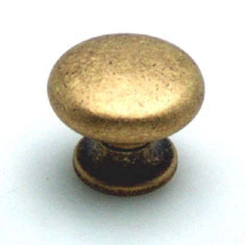 Berenson, 2957-1DAB-C, Cabinet Knob, Euro Retro, Dull Antique Brass