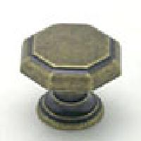 Berenson, 7089-1DAB-C, Cabinet Knob, Euro Classica, Dull Antique Brass Finish