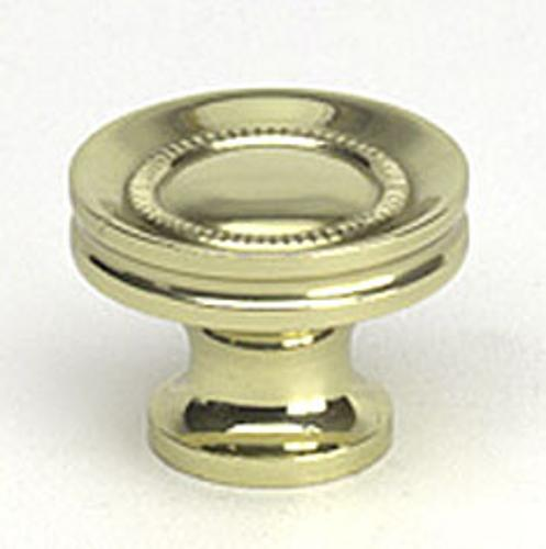 Berenson, 9312-303-C, Cabinet Knob, Plymouth, Polished Brass