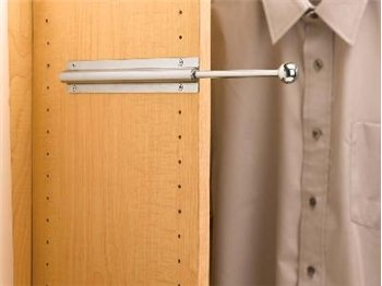 Closet Valet Rod-Chrome