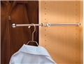 Designer Closet Valet Rod-Chrome 14 in