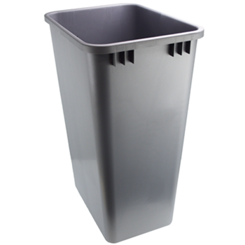 Replacement Trash Can 50 Quart Silver Rv 50 17 52