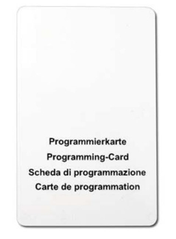 FPS PK Programming Card