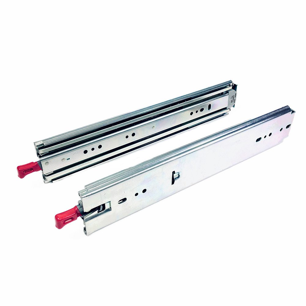 "34"" Heavy Duty Locking Drawer Slide, FR5400-L"