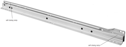 "14""  Epoxy Coated Roller Drawer Slide, FR 1921"