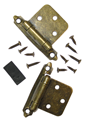 Hawthorne & Reid, HR10000BB02P, Cabinet Hinge, Semi-Concealed Burnished Brass